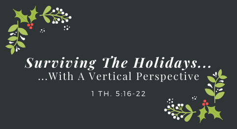 Surviving The Holidays With A Vertical Perspective